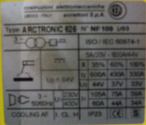 Cea Arctronic 626, kenplaat
